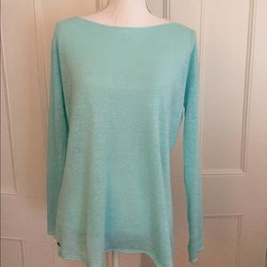 Lilly Pulitzer women's Linen knit top. Size Small